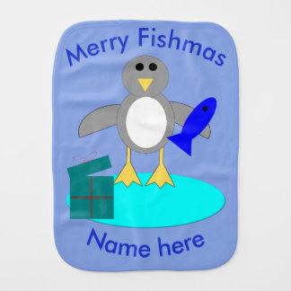 De vrolijke Doek van de Oprisping van de Pinguïn Monddoekje