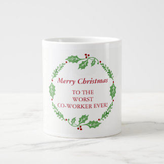 De vrolijke Geheime Kerstman van de Medewerker van Grote Koffiekop