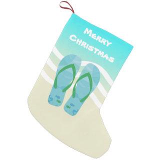De vrolijke Golven Sandals van het Strand van de Kleine Kerstsok