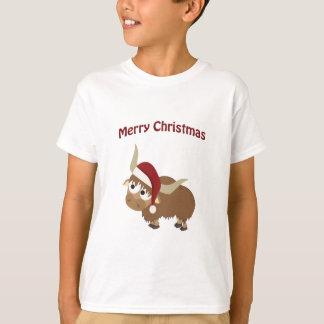 De vrolijke Jakken van de Kerstman van Kerstmis T Shirt