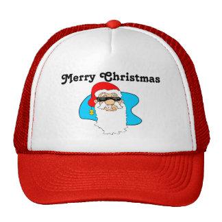 De vrolijke Koele Kerstman van Kerstmis in Trucker Cap