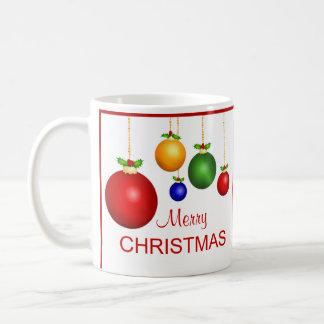 De vrolijke Mok van de Foto van Kerstmis