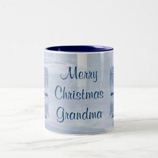 De vrolijke Mok van de Oma van Kerstmis