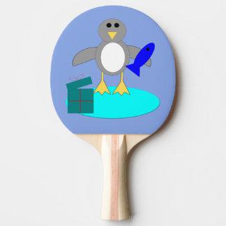 De vrolijke Peddel van de Pingpong van de Pinguïn Tafeltennis Bat