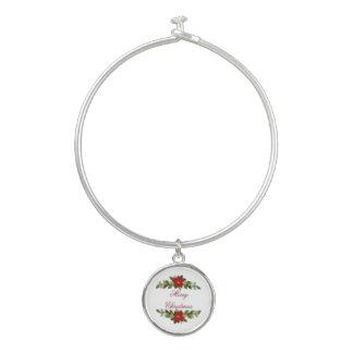 De vrolijke Slinger van Kerstmis Bangle Armbandje