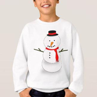 De vrolijke Sneeuwman van Kerstmis Trui