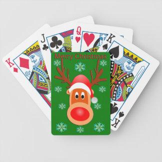De vrolijke Speelkaarten van de Pook van de Herten Poker Kaarten