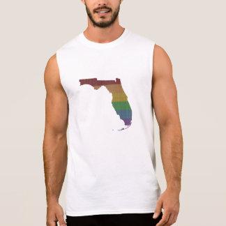 De Vrolijke Trots van de Regenboog van Florida T Shirt
