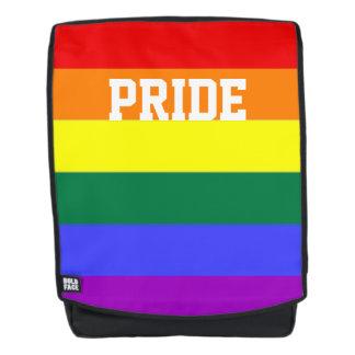 De vrolijke Vlag van de Regenboog van de Trots Rugtassen