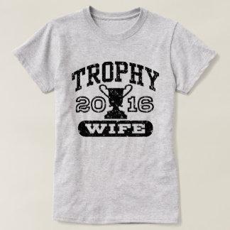 De Vrouw 2016 van de trofee T Shirt