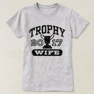 De Vrouw 2017 van de trofee T Shirt