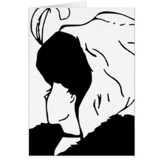 De vrouw of de Moeder in Wet Kaart