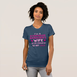De Vrouw van de Manager van het pakhuis T Shirt
