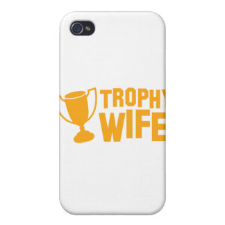 De vrouw van de TROFEE iPhone 4/4S Hoesjes