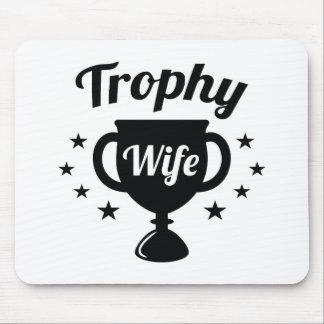 De Vrouw van de trofee Muismat