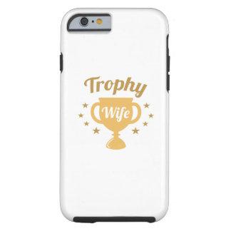 De Vrouw van de trofee Tough iPhone 6 Hoesje