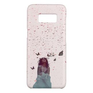De Vrouw van de vlinder Case-Mate Samsung Galaxy S8 Hoesje