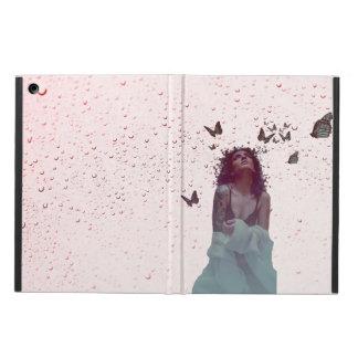 De Vrouw van de vlinder iPad Air Hoesje