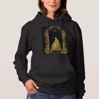 De Vrouw van Falln in de Gouden Dekking van het Hoodie