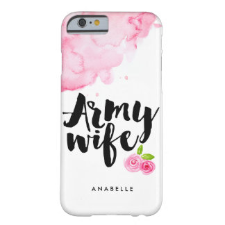 De Vrouw van het leger Barely There iPhone 6 Hoesje