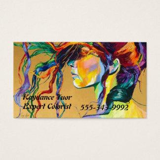 De vrouwen ervaren visitekaartjes