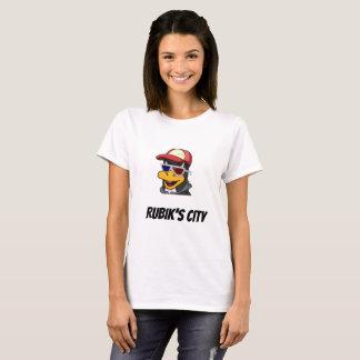 De Vrouwen van de T-shirt van Yee van de Stad van