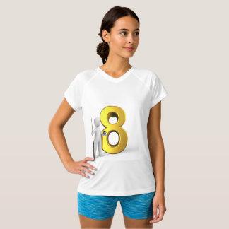 De Vrouwen van de T-shirts van het biljart
