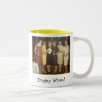 De Vrouwen van de trofee! Tweekleurige Koffiemok