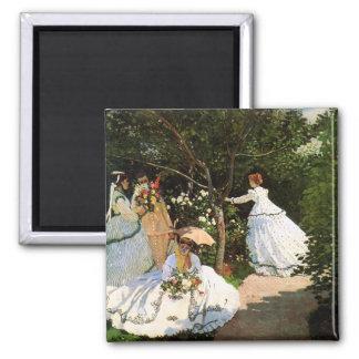 De Vrouwen van Monet in de Magneet van de Tuin