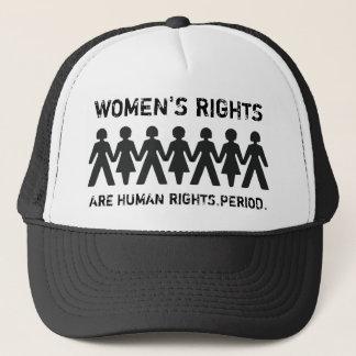 De vrouwen zijn ook Mensen Trucker Pet