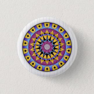De Vruchtbaarheid van Mandala Ronde Button 3,2 Cm