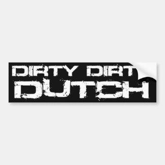 De VUILE NEDERLANDSE Sticker van de Bumper