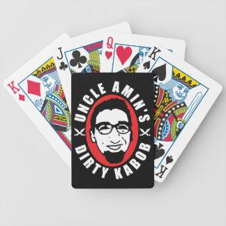 De Vuile Speelkaarten Kabob van oom Amin's Bicycle Speelkaarten