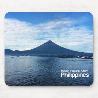 De Vulkaan Albay Filippijnen Mousepad van Mayon Muismat