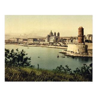De vuurtoren en de kathedraal, Marseille, Briefkaart