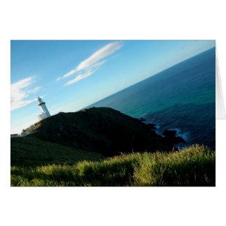 De Vuurtoren ~ Notecard van de Baai van Byron Briefkaarten 0