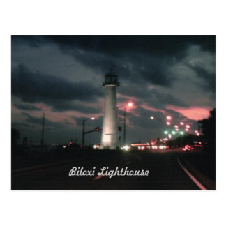 De Vuurtoren van Biloxi Briefkaart