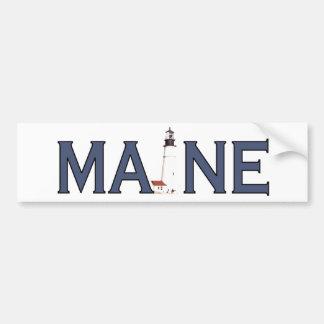 De Vuurtoren van Maine Bumpersticker