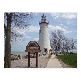 De Vuurtoren van Marblehead, Ohio Briefkaart