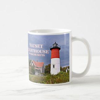 De Vuurtoren van Nauset, Cape Cod, de Mok van