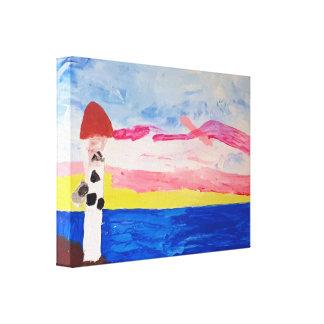 De Vuurtoren van Nova Scotia - Canvas