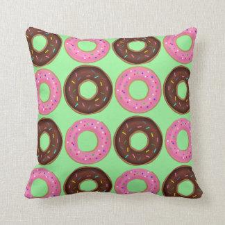De Waanzin van de doughnut werpt Kussen