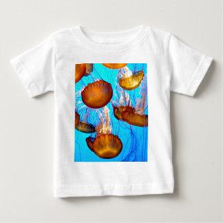 De Waanzin van kwallen Baby T Shirts