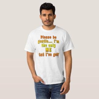"""De Waarde van het mannen """"is Zacht"""" T-shirt"""