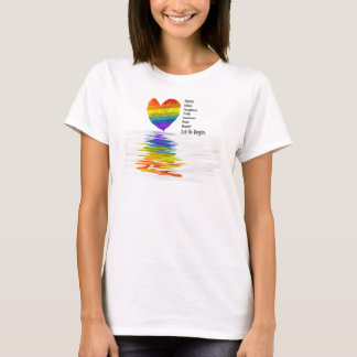 De waardigheid, Rechtvaardigheid, Waarheid… T Shirt