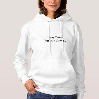 De waarheid gaat nooit weg hoodie