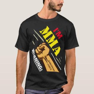 De WAARSCHUWING mengde KrijgsKunstenaar T Shirt