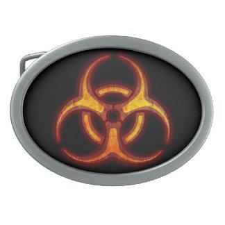 De Waarschuwing van de Zombie van Biohazard Gesp