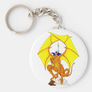 De Wacht Keychain van de draak Sleutelhanger