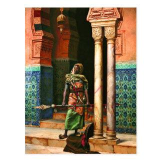 De Wacht van Nubian door Deutsch Briefkaart